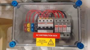 ac distribution box three phase system at rs 4500 5 kilowatt ac distribution box three phase system