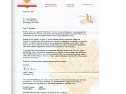 Non Profit Thank You Letter Sample Beauteous How To Write A Killer Thank You Letter
