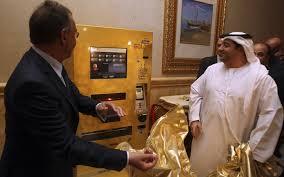Gold Bullion Vending Machine Impressive China Launches Gold Vending Machine Emirates4848