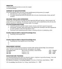 Example Of Functional Resumes Free 5 Sample Functional Resumes In Pdf