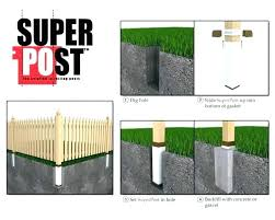 installing a wood fence best wood for fence posts best way to install wood fence posts