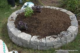 Small Picture Building a Fall Garden Bed From Stone Retaining Wall Blocks