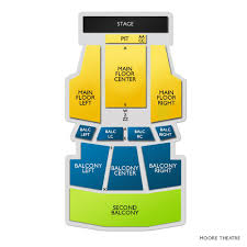 Moore Theater Seattle Seating Chart Moore Theatre Tickets