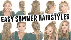 Fashion Easy Summer Hairstyles Likable 100 Cute Easy Summer