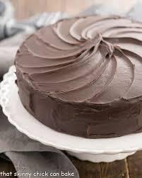Triple Layer Cocoa Cake