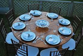 66 round new england round farm table