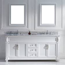 single white bathroom vanities. 72 Perfecta Van081d Bathroom Vanity Inch Single White Vanities