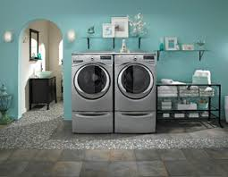 beachside cottage style laundry room with whirlpool appliances beach style laundry room other by geniers home appliance beach style laundry room