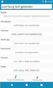 cool fancy text generator stylish text