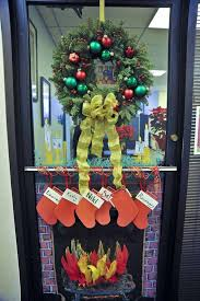 christmas decorating for the office. Unique The Christmas Door Decorations For Office In Decorating For The L