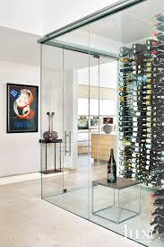 Glass Wine Room Design Okay So Maybe This Modern Glass Wine Cellar Is Going A Bit