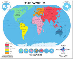 labeled world map poster labeled world map best of labled
