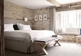Charming A Bedroom From The Wild Rabbit In Kingham   Like The Bedside Lights Hanging  From The