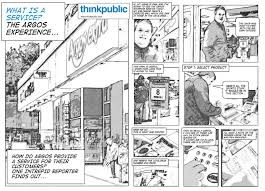 Comic Storyboards Storyboard Service Design Tools 17
