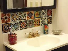 Mexican Tile Kitchen Dusty Coyote Mexican Tile Kitchen Backsplash Diy