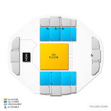 Tacoma Dome Michael Buble Seating Chart Excision Tacoma Tickets 1 31 2020 Vivid Seats