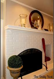 painting a fireplace whitePainting Brick Fireplace White  Hometalk