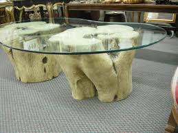 amazing home amusing tree trunk table base on rustic big leaf burl coffee from dutchcrafters