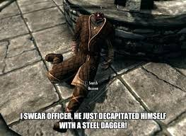 Skyrim Guard Quotes Simple Funny Skyrim Quotes With Elder Scrolls To Produce Perfect Funny