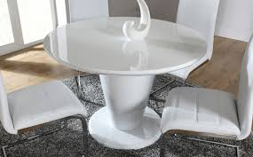 paris white high gloss round dining room table only 34999 great round white gloss dining table