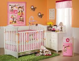 girl monkey crib bedding set ideas