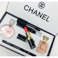 chanel 5 in 1 gift set makeup