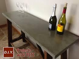 diy concrete tabletop bob vila