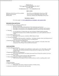 Current Job Resume Example General Summary Cover Letter Objectives
