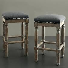 Large size of Renate Brown And Grey Counter Stools Set Of 2 Wood Swivel Counter  Height