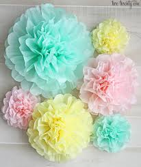 How To Make Tissue Paper Balls Decorations Stunning How To Make Tissue Paper PomPoms