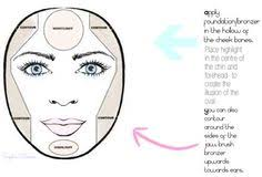 makeup contouring highlighting round face makeup face shapes face contouring beauty hair ideas round faces oval