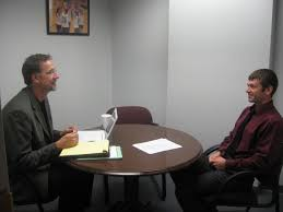 mock interviews fort hays state university student participating in a mock interview