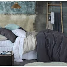 laundered linen duvet cover sets by mm linen commercial supplies nz