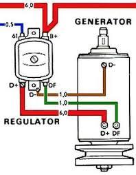 Ford Voltage Regulator To Generator Wiring Diagram Delco Remy Regulator Wiring Diagram