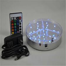 wireless art lighting. 6 Inch Hookah LED Art Light Base With Wireless Remote Control Rechargable Centerpiece Lighting