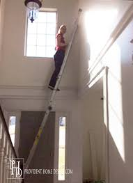 painting high ceilings. Brilliant Ceilings How To Paint A 2 Story Space On Painting High Ceilings O