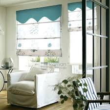 modern flat shaped print roman shades for sliding glass doors with valance french p shades for door window furniture exquisite roman