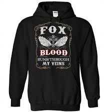 Foxblood Size Chart Its A Fox Thing You Wouldnt Understand T Shirts Fb Shirts