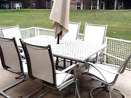 outdoor patio sling chairs outdoor patio furniture sling replacement pictures inspirations