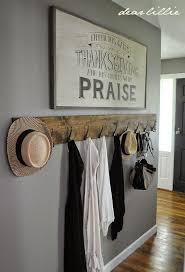 Wall Coat Rack Ideas Coat Rack We made it with a 100 by 100 piece of wood about 100 feet 51