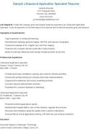 Photo Gallery Of Ultrasound Application Specialist Cover Letter