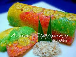 Semua resep di blog ini simple dan bahan bahannya mudah di dapat. Kue Sipigung By Dame Tobing Ncc Weeks Pangan Lokal