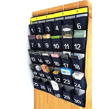 Cell Phone Pocket Chart Us 8 92 30 Off 30 Pockets Classroom Pocket Chart For Storage Cell Phones With 4 Hooks In Storage Bags From Home Garden On Aliexpress