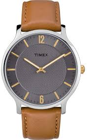 timex metropolitan mens 40mm leather watch tw2r49700