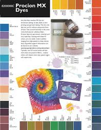 Procion Dye Color Mixing Chart Procion Mx Dye Color Mixing Chart Bedowntowndaytona Com