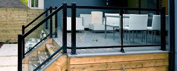 aluminum deck railing s handrail system commercial exterior aluminum outdoor railings stairs freedom embled 6 ft x 3