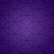 Decorative Background With A Purple Damask Pattern Vector Free