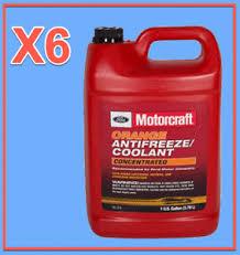 Ford Antifreeze Chart Details About 6 X Gallon Engine Coolant Antifreeze Motorcraft Vc3b Concentrated Orange
