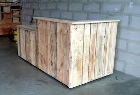 custom build pallet bar pallet