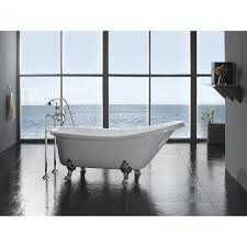 Bathroom With Clawfoot Tub Concept Best Design